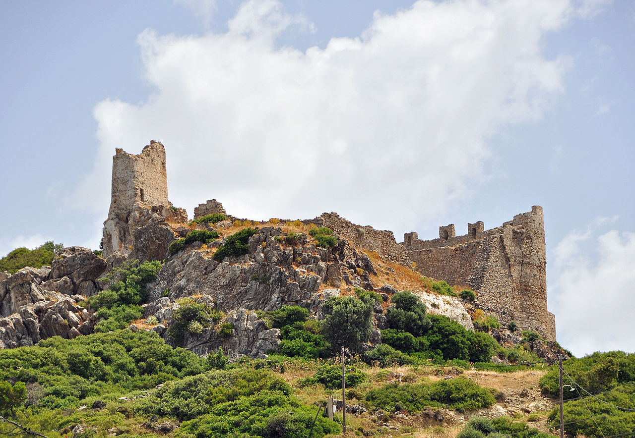 The Knights Castle Of Asklepio