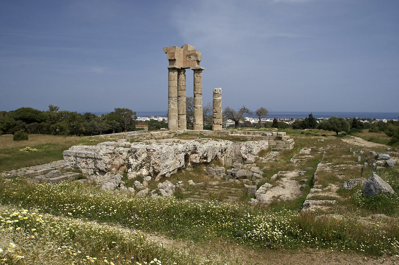 Acropolis Of Rhodes (Monte Smith Hill Or St Stephens)