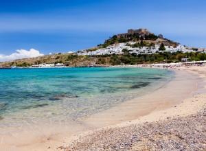 Lindos Beach Rhodes Island Greece 1440×1920