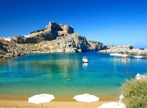 Best Greek Beaches Lindos Rhodes