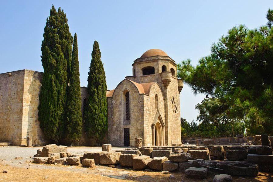 The Monastery Of Panagia Filerimos
