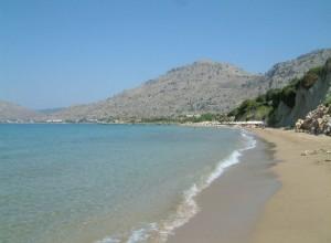 Pefkos Beach