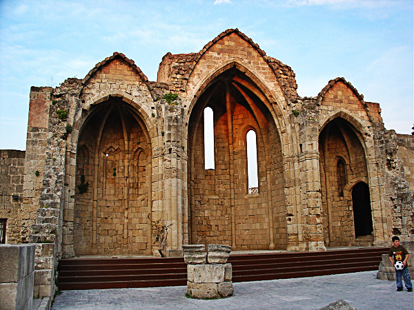 Churches That Were Not Turned Into Mosques By The Ottomans